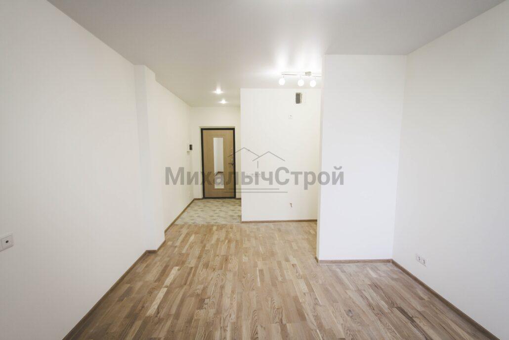 Фото ремонта квартиры студии 25 кв.м.