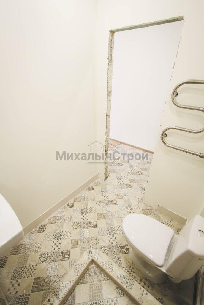 Фото ремонта ванной в студии