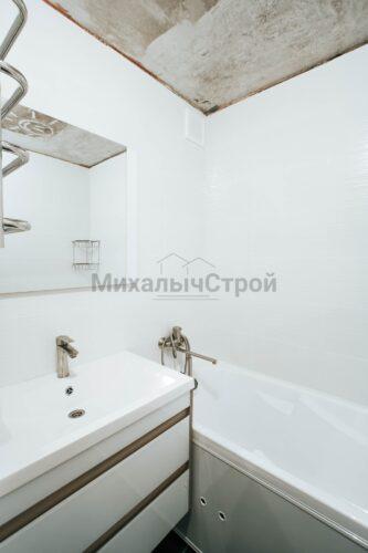 Фото капитального ремонта ванной