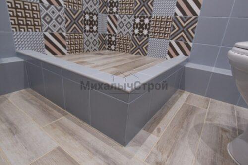 Ремонт ванной комнаты в студии