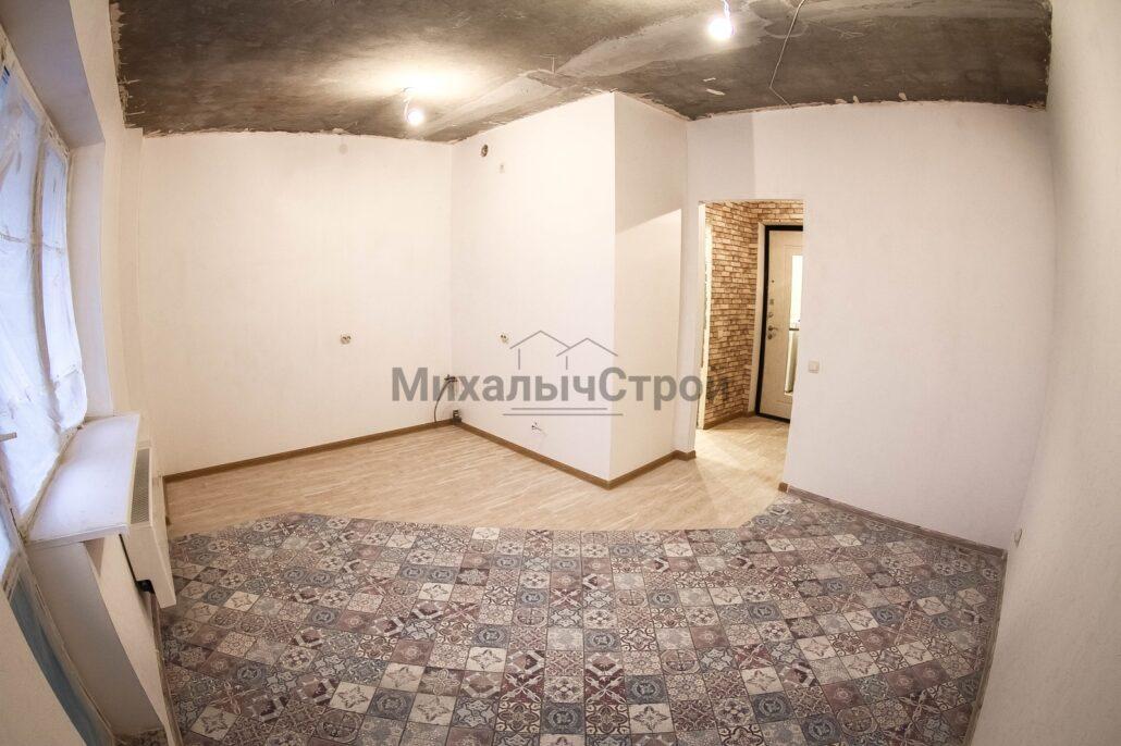 Ремонт студии 20 кв.м