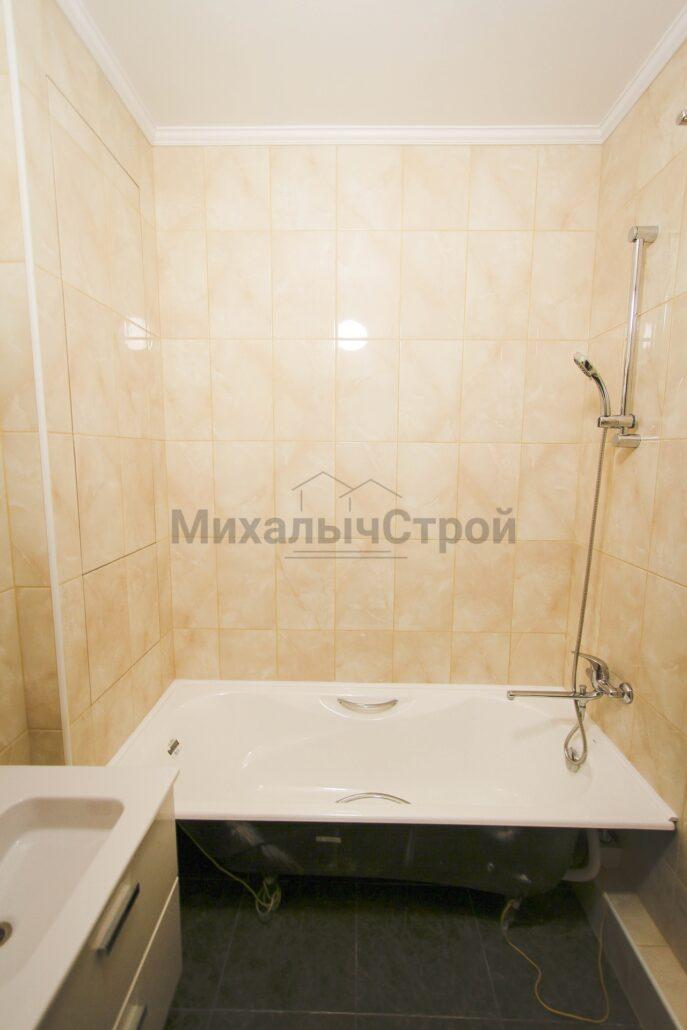 Фото ремонта ванной в новостройке