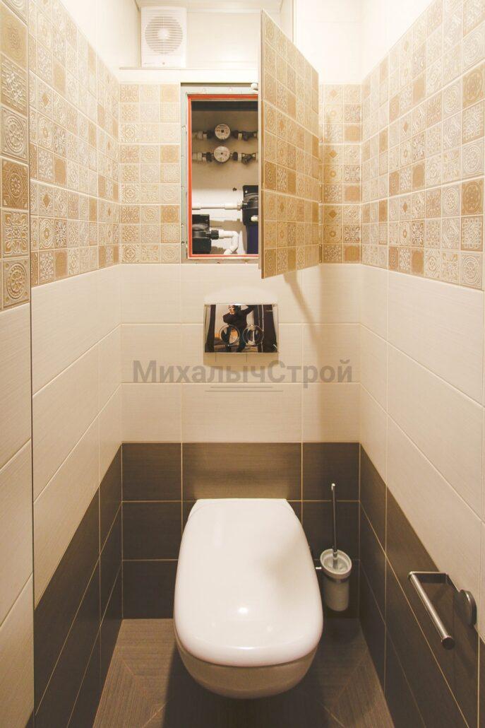 Фото капитального ремонта двухкомнатной квартиры