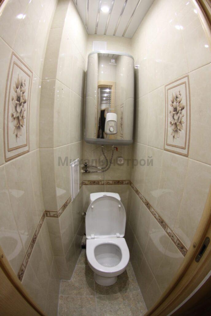 Капитальный ремонт туалета