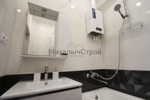 капитальный ремонт ванной в однушке