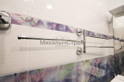 полотенцесушитель в ванной в панельном доме