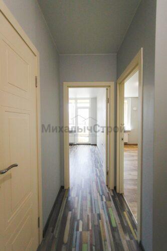 Ремонт в однокомнатной квартире 40 кв м
