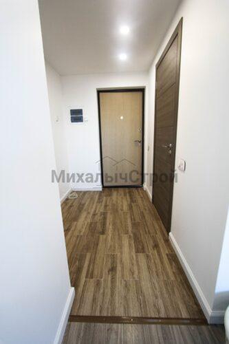 Ремонт однокомнатной квартиры с мансардой, 45 кв. м.
