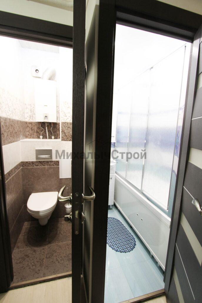 ремонт ванной и туалета в панельном доме