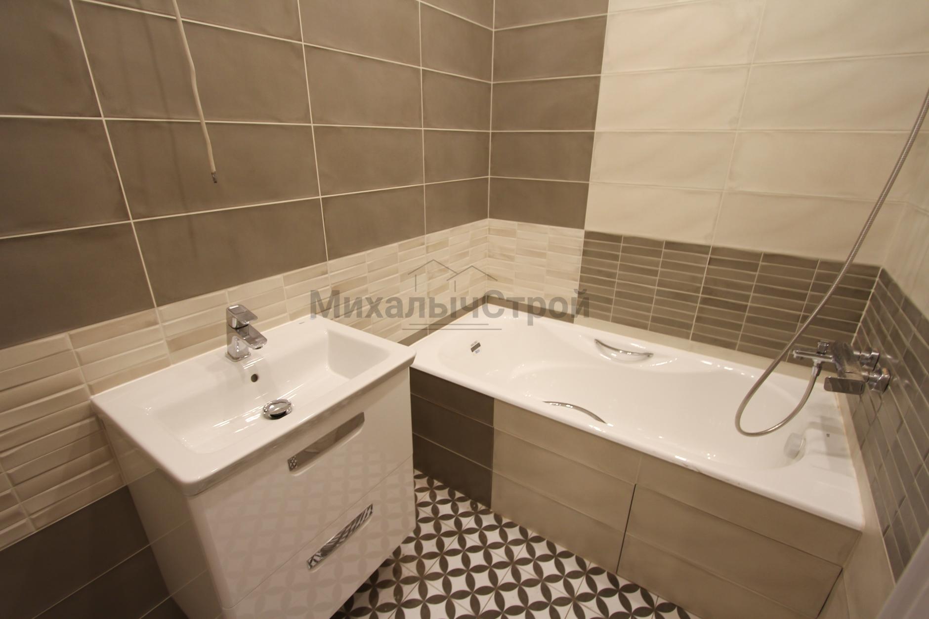 Ремонт ванной комнаты в старом фонде